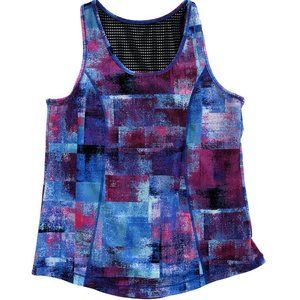 SOMA SPORT Women's Abstract Workout Tank Top XL